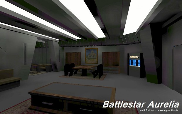 Battlestar Aurelia - CO Quarters