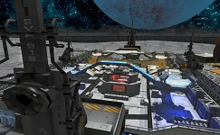FreeFall Tournament Moon Base Map