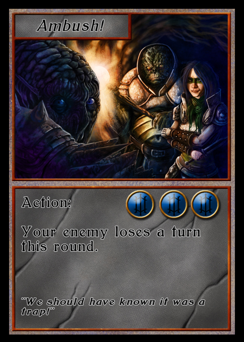 Ambushed! (card version)