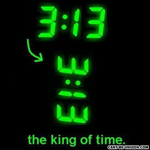 i am the king of time