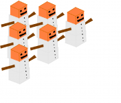 A Snowgolem army