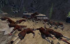 Massacre in the canyon