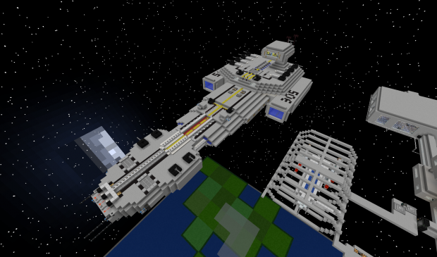 Minecraft Space Ship Image Gruenerteufel2 Mod Db