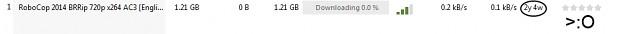 BitTorrent is trolling me!
