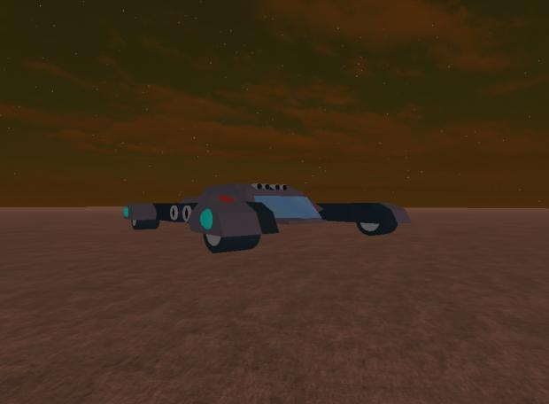 Ezekiel's Wheel Stealth Tank