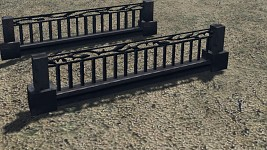 Bridge fence retextured version (WIP)