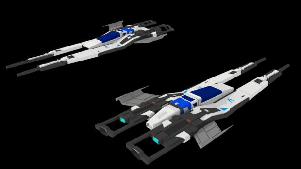 Mass Effect SX3 Fighter