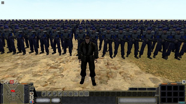 Solid Snake and his army, the snake brigade!!
