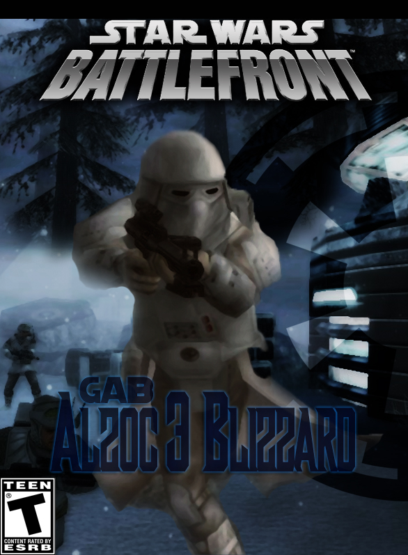SWBF 2 : Alzoc 3 Blizzard Mod Game Cover