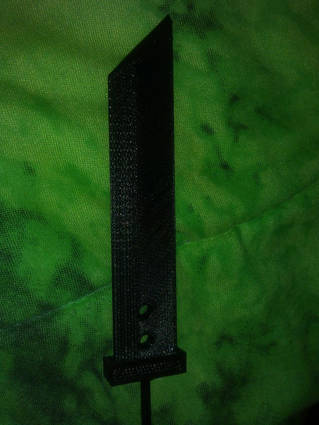 3D Printed Buster Sword