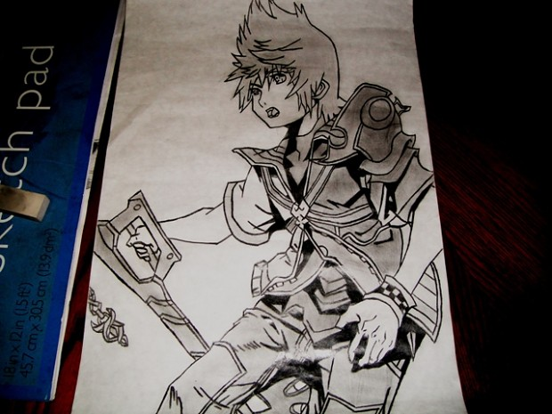 Ventus from Kingdom Hearts Series