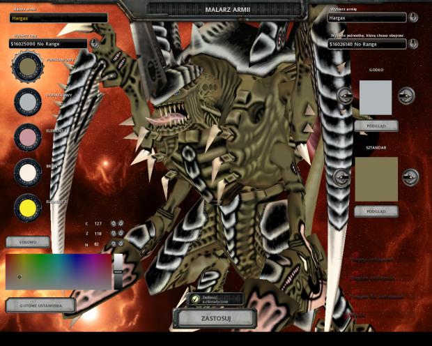 Lekko poprawiona tekstura Hive Tyrant'a