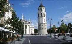Street city view