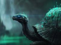 Quarry Cave Turtle Concept.