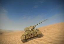 A20 Tank in WOT