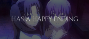 Has a happy ending