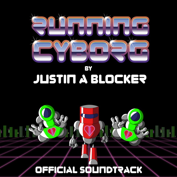 """Running Cyborg"" OST Cover"