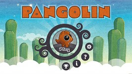 Pangolin's Title Screen