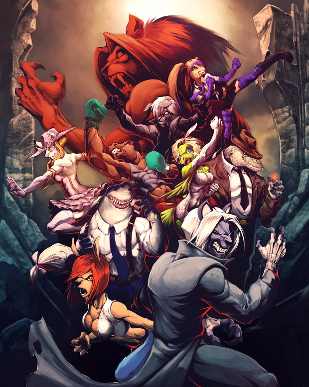 Beasts Fury Cover Art
