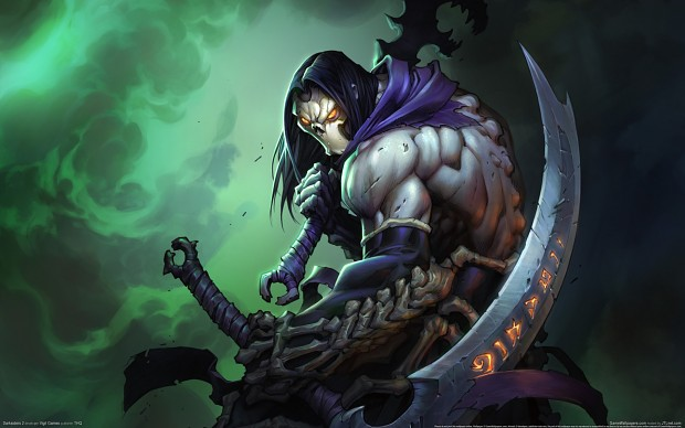 Cartoon of darksiders 2