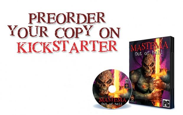 Mastema Out of Hell  Cover Kickstarter