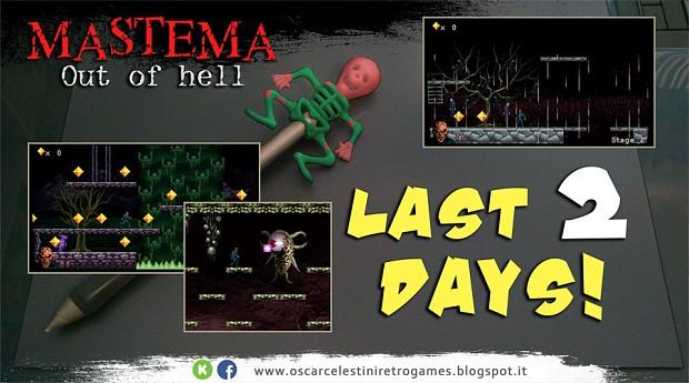 MASTEMA Out of hell kickstarter last 2 days