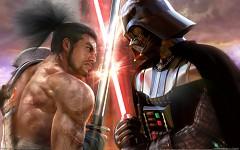 Darth Vader vs Samurai