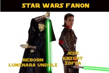 Star Wars Fanon: Luminara and Zofia