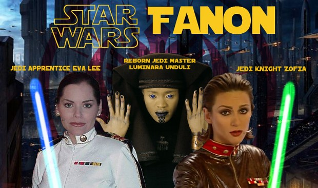 Star Wars Fanon - Luminara's Two New Apprentices