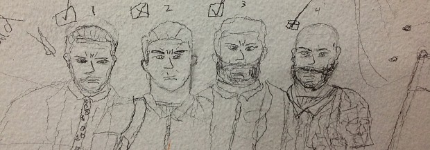 PAYNE EVOLUTION - Drawn by subway drake