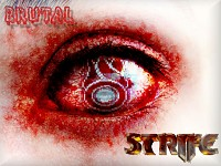 Brutal STRIFE Wallpaper Blinded by faith