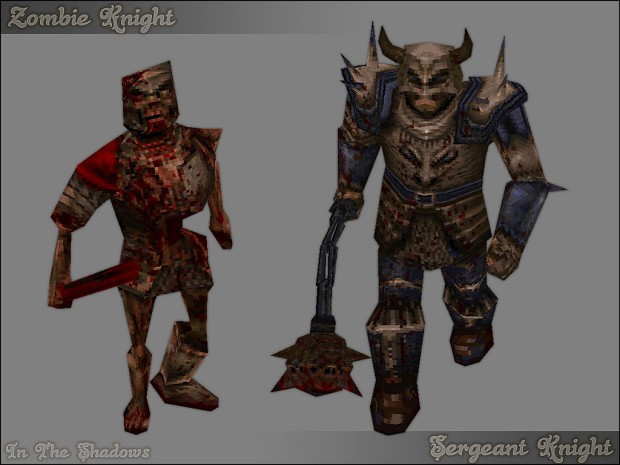 The Zombie and Sergeant Knight