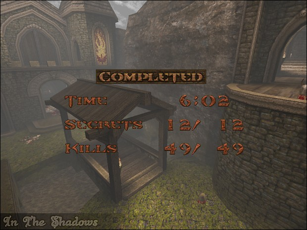 In The Shadows - Level Complete