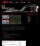 A Dark Secret - Homepage
