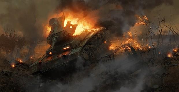 Wrecked Panzer