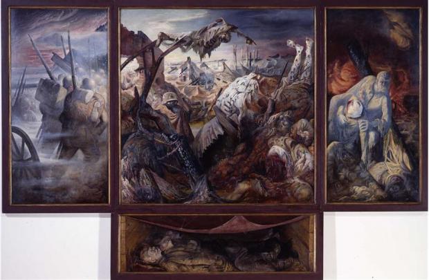 Otto Dix- Der Krieg