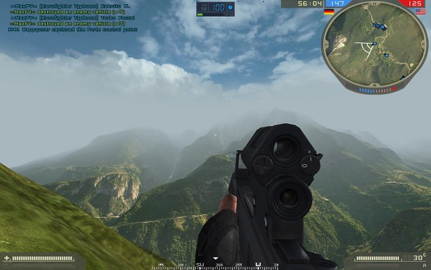 New sky for the Mountain Convoy Attack map by Cataly63
