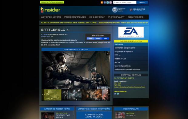 Battlefield 4 // Insider.com