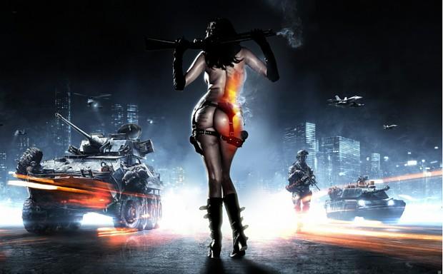 BattleField 3 Girl Concept