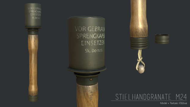 Stielhandgranate M24