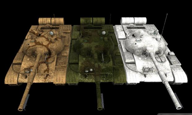New T-62 Skins [AGAIN, AGAIN]