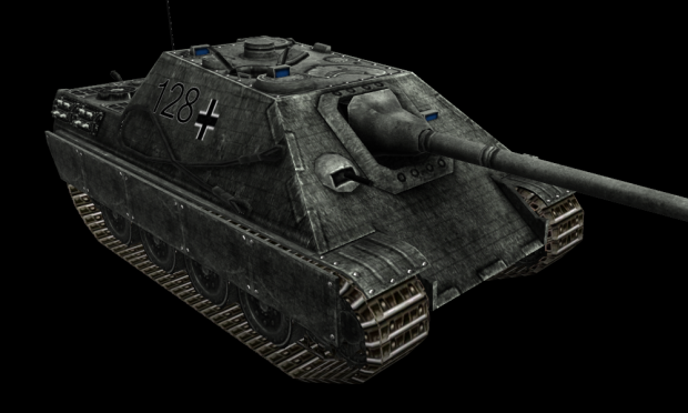 Jagdpanther Zimmerit HD Skin