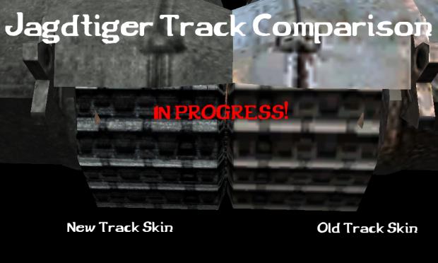 Jagdtiger Track Comparison
