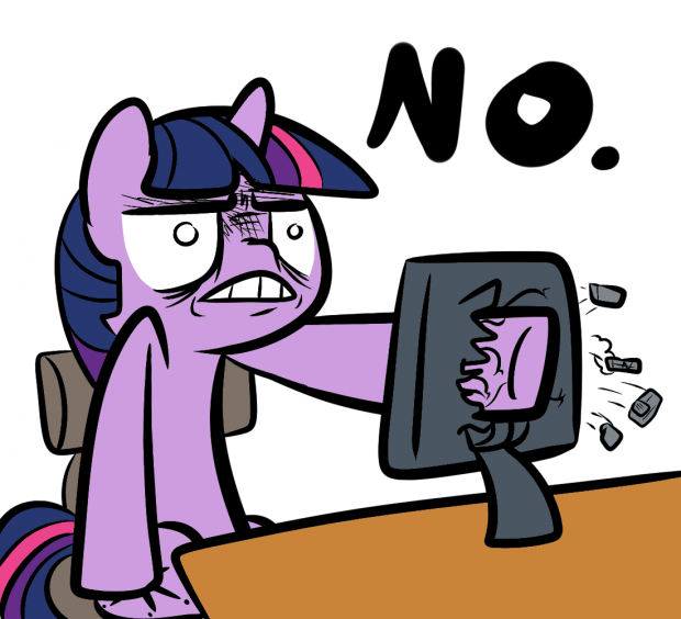 Twilight's Computer Crashes