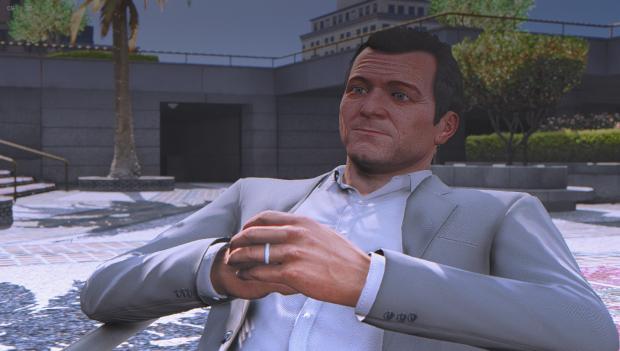 GTA V Graphics mod (Facial Detailing)