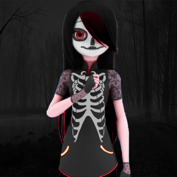 Full Version of my Halloween Avatar.