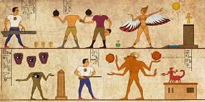 Serious Sam Egyptian fresco