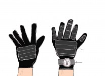 Revised version of the gloves