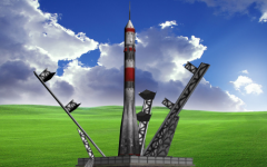 Baikonur Rocket Pad