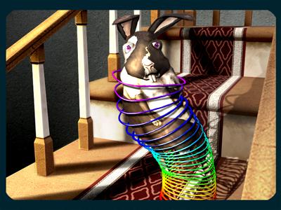 Crazy Critter Dash Slinky